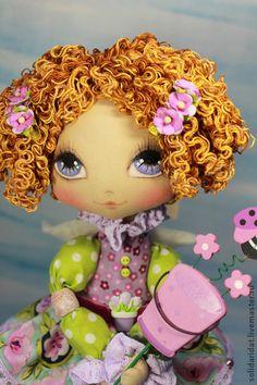 Collectible handmade dolls.  Fair Masters - handmade Britney Angel estate needs.  Handmade.