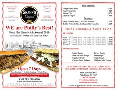 Shank's Original Pier 40: Catering