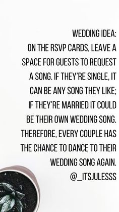 Came up with this idea today, and I'm determined to do it at my wedding. Somed… Came up with this idea today, and I'm determined to do it at my wedding. Cute Wedding Ideas, Wedding Goals, Wedding Tips, Perfect Wedding, Fall Wedding, Our Wedding, Wedding Planning, Dream Wedding, Wedding Table