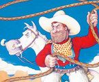 Pecos Bill, Told by Robin Williams with Music by Ry Cooder Movie Tv, Brian Gleeson, Robin Williams Movies, Ry Cooder, Pecos Bill, All Robins, American Library Association, Rabbit Ears