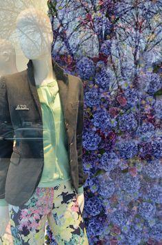 Marvelous Eickhoff shop windows Spring D sseldorf visual merchandising