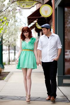 cute dress, cute couple