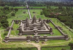 Angkor Wat is the only temple in Angkor that remained a significant religious… Temple Ruins, Hindu Temple, Angkor Wat, Buddhist Architecture, Fantasy Art Landscapes, Ancient Ruins, Creative Art, Creative Things, Countries Of The World