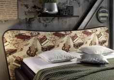 Łóżko Boxspring 995 41 Tkanina( zagłowie) + Skóropodobne ( pozostała cześć…