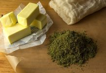 Cooking with cannabis. Make your own delicious cannabis treats. The stoner cookbook at Cannabis Training University. Marijuana Butter, Weed Butter, Cannabis Butter Crockpot, Butter Oil, Body Butter, Weed Recipes, Marijuana Recipes, Herbs, Ideas