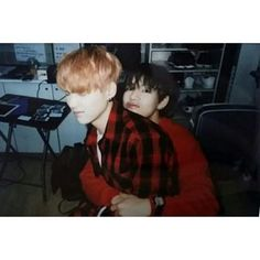 suga being attack hugged by tae is my favorite thing
