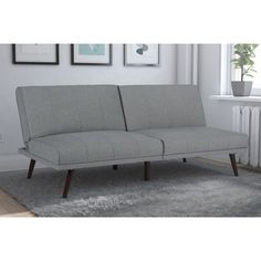 "43"" wide sleeping. Not the best size. DHP Lone Pine Futon"