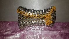 Sweet yellow can tabs clutch - Ashlea's Designs