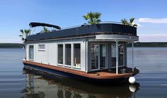 Luxury house boat You are in the right place about Boats sketch Here we offer you the most beautiful pictures about the yacht Boats you are looking for. When you examine the Luxury house boat part of Jacuzzi, Small Houseboats, Shanty Boat, Lakefront Property, Mobile Home Decorating, Dome House, Floating House, Modern Staircase, Boat Design