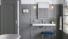 Luxe and modern bathroom