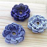 Free Crochet Flower Patterns Flower Accent