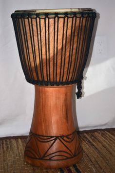 African Art Djembe Drum African Drum Drumming by Boriquahafrikanah, $140.00