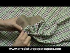 Subir los puños a una camisa que nos queda larga de manga - YouTube