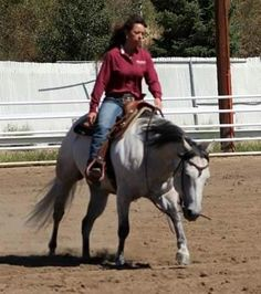 Be sure to check out this versatile gelding if you're in the market for a ranch horse!