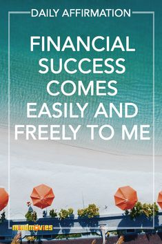 Say this affirmation out loud as part of your daily ritual
