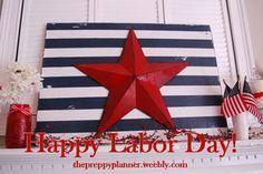 Happy Labor Day! #PreppyPlanner