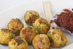 Millet Burgers (or canapes) -Dairy Free, Nut Free, Vegetarian and Vegan  http://browsersgrazers.com/millet-burgers/