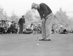 Byron Nelson at the 1946 U.S. Open
