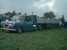 Dutch Mini-truck! Spotted at Mini Guinness World Record