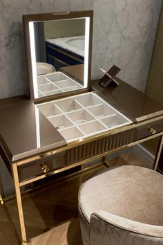 Academy collection of luxury bathroom furniture by Oasis Italian Furniture Design, Bedroom Furniture Design, Bathroom Furniture, Bathroom Interior, Luxury Furniture, Corner Dressing Table, Bedroom Dressing Table, Dressing Table Design, Dressing Tables