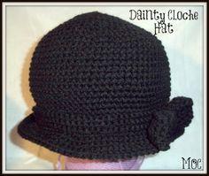 Dainty Cloche Hat