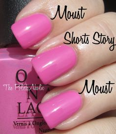 OPI Shorts Story Nails Susan D Love Polish