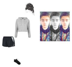 """""""lazy day with the bae"""" by nynystrong ❤ liked on Polyvore featuring Topshop, NIKE and jackjhonson"""