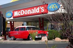 Mcdonalds, Car Ins, Old Cars, Creative, Sony, Las Vegas, Bridge, Old Things, Cool Stuff