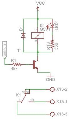 Relay driver circuit electronics pinterest circuits circuit plc relay output ccuart Images