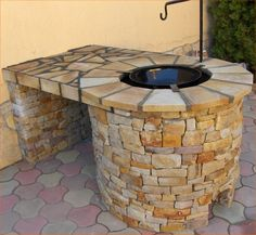 Indoor Pizza Oven, Outdoor Oven, Outdoor Cooking, Fire Pit Bbq, Diy Fire Pit, Brick Grill, Grill N Chill, Rustic Bedroom Furniture, Courtyard House Plans