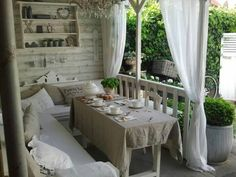 Terrasse style maison campagne