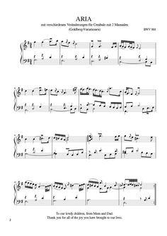 Goldberg Variations on MuseScore.com #sheetmusic #musiced