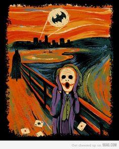 The scream... of Joker! The perfect bridge pc yo my art