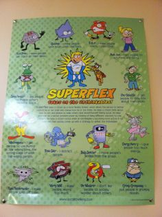 Love Superflex and how much kids can relate to the characters!