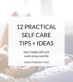 Most of us know we should practice self-care, but sometimes finding organic ways to incorporate it into our lives (without it feeling like a chore or something else on the to-do list) is easier said than done! Here are 12 practical self-care tips and idea Tarot, Care Quotes, Smile Quotes, Quotes Quotes, Self Care Activities, Self Acceptance, Love Tips, Mindful Living, Slow Living