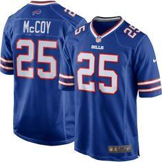 Nike Men's Home Game Jersey Buffalo LeSean McCoy #25, Size: Medium, Team