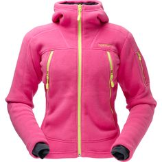 NORRØNA Narvik warm fleece  --> Polartech fleece, warm, it's super soft, great quality, small in size, SUPER COLORS!  I love this jacket, although I admit I haven't used it much outdoors, because it's so great looking, don't want to ruin it :D :D