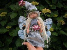 fairy doll woodland fairy ooak art doll magical por MundoMagico