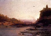 "New artwork for sale! - "" Herzog Herman Evening On The Susquehanna by Herman Herzog "" - http://ift.tt/2pivweY"
