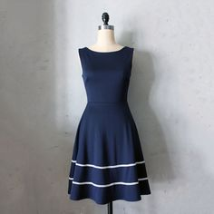 Coquette Dress Navy blue, dresses, women's apparel