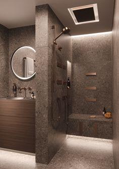Modern bathroom design 337066353361265771 - Small Bathroom Apartment Design Ideas 150 Source by gracefuldecorhouse Washroom Design, Bathroom Design Luxury, Bathroom Layout, Modern Bathroom Design, Bathroom Photos, Bathroom Mirrors, Bathroom Cabinets, Modern Design, Toilet And Bathroom Design