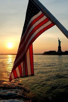 Stars and Stripes and Lady Liberty......what could be a better pair!