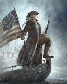 George Washington. Father of our Country. He fought along side w/the soldiers.....