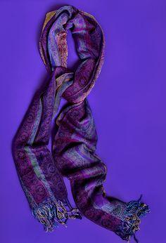 Charming Charlie - Purple Scarf