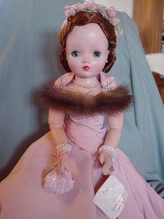 MADAME ALEXANDER VINTAGE, HARD PLASTIC CISSY DOLL IN MINT, CRISP, PINK TAFF   eBay