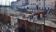 Festa per l'inaugurazione della passerella 'Biki' a Porta Genova Milano, Party