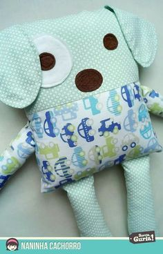 fabric toys Sewing Pillows Animals Fabrics 19 Ideas For 2019 Sewing Stuffed Animals, Stuffed Animal Patterns, Quilt Baby, Kids Pillows, Animal Pillows, Fabric Toys, Fabric Crafts, Fabric Sewing, Sewing Crafts