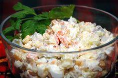 Falošný zemiakový šalát, z ktorého nepriberiete ani gram: Je taký fantastický, že si u nás doma nikto nevšimol, že v ňom vôbec nie sú zemiaky! Potato Salad, Healthy Recipes, Healthy Food, Grains, Potatoes, Rice, Ethnic Recipes, Healthy Foods, Healthy Food Recipes