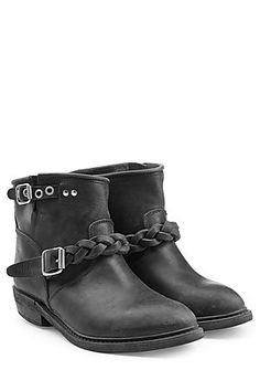 These+black+ankle+boots+from+Golden+Goose+are+biker+inspired+and+effortless+to+style+#Stylebop