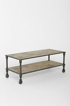 4040 Locust Heritage Rolling Coffee Table